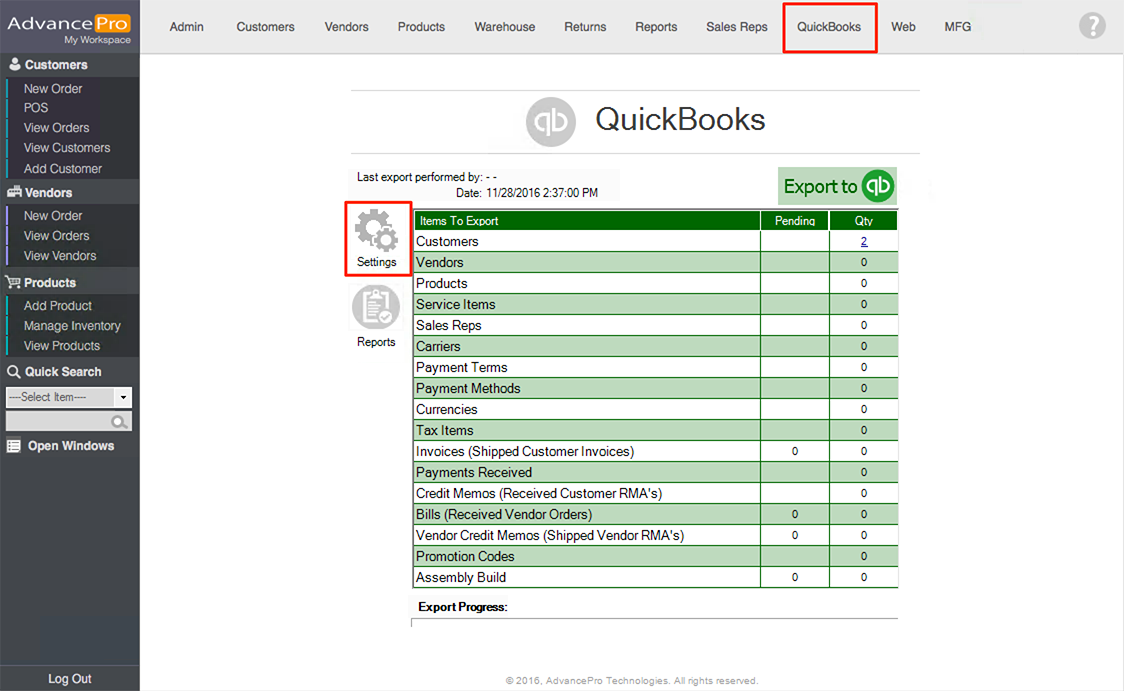 QuickBooks Syncing Setup Guide