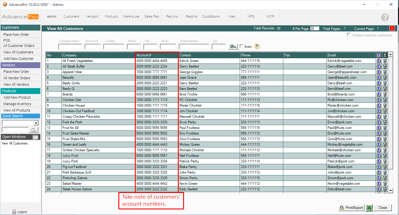 HOW TO: Import Customer Pricing using Excel Spreadsheet